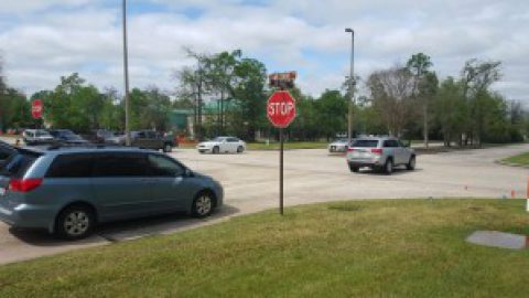 Intersection Construction – Lake Front Circle at Six Pines Drive